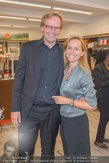 Jane Goodall Speech - Meinl´s Rösthalle - Di 10.09.2019 - Andreas BIERWIRTH mit Ehefrau Astrid42