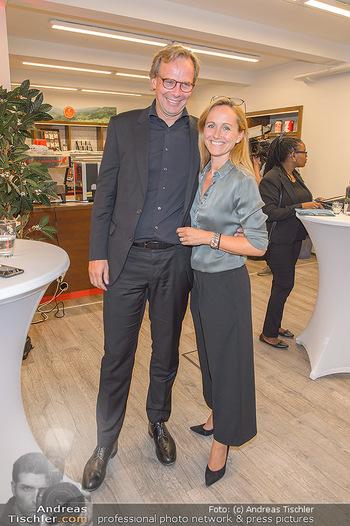 Jane Goodall Speech - Meinl´s Rösthalle - Di 10.09.2019 - Andreas BIERWIRTH mit Ehefrau Astrid43