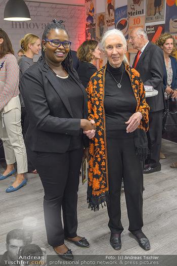 Jane Goodall Speech - Meinl´s Rösthalle - Di 10.09.2019 - Hope WANEKE, Jane GOODALL49