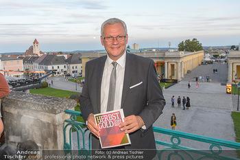 Herbstgold Festival Eröffnung - Schloss Esterhazy, Eisenstadt - Mi 11.09.2019 - Thomas STEINER (Bürgermeister, im Hintergrund Eisenstadt)84