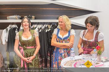 Aufdirndln für die Damenwiesn - Sportalm Store, Wien - Do 12.09.2019 - 53