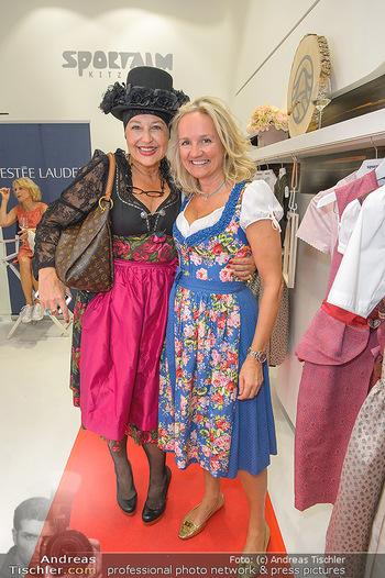 Aufdirndln für die Damenwiesn - Sportalm Store, Wien - Do 12.09.2019 - Andrea BUDAY, Ulli EHRLICH74