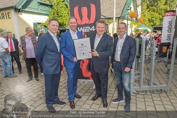 W24 Bezirksaward Verleihung - Ottakringer Kirtag, Wien - Fr 13.09.2019 - Michael LUDWIG, Franz PROKOP, Marcin KOTLOWSKI, Michael KOFLER1