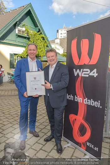 W24 Bezirksaward Verleihung - Ottakringer Kirtag, Wien - Fr 13.09.2019 - Michael LUDWIG, Franz PROKOP12
