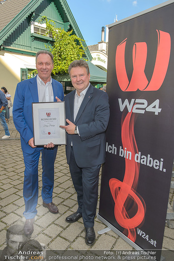 W24 Bezirksaward Verleihung - Ottakringer Kirtag, Wien - Fr 13.09.2019 - Michael LUDWIG, Franz PROKOP13