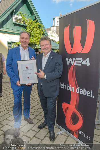 W24 Bezirksaward Verleihung - Ottakringer Kirtag, Wien - Fr 13.09.2019 - Michael LUDWIG, Franz PROKOP14