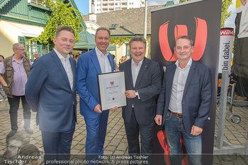 W24 Bezirksaward Verleihung - Ottakringer Kirtag, Wien - Fr 13.09.2019 - Michael LUDWIG, Franz PROKOP, Marcin KOTLOWSKI, Michael KOFLER15