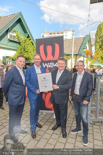 W24 Bezirksaward Verleihung - Ottakringer Kirtag, Wien - Fr 13.09.2019 - Michael LUDWIG, Franz PROKOP, Marcin KOTLOWSKI, Michael KOFLER17
