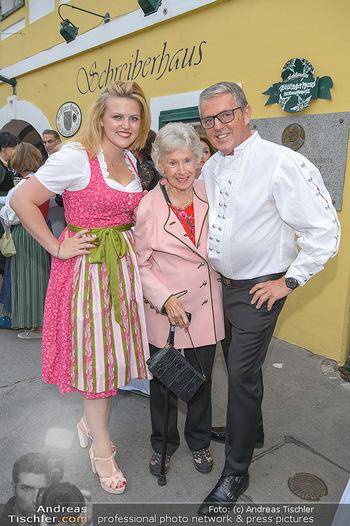 120 Jahre Jubiläum - Schreiberhaus, Wien - Fr 13.09.2019 - Waltraud HAAS, Poldi HUBER mit Tochter Stephanie3