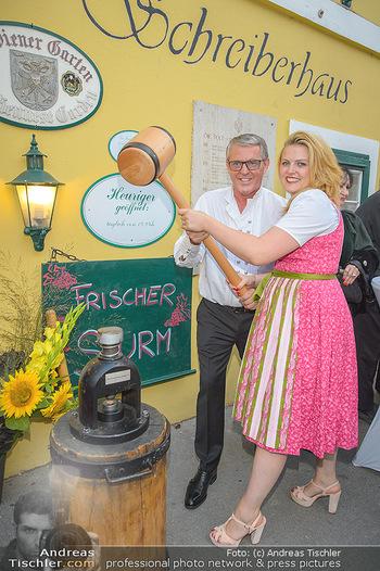 120 Jahre Jubiläum - Schreiberhaus, Wien - Fr 13.09.2019 - Poldi HUBER mit Tochter Stephanie15