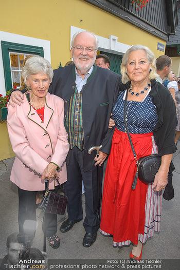120 Jahre Jubiläum - Schreiberhaus, Wien - Fr 13.09.2019 - Felix DVORAK mit Ehefrau Elisabeth, Waltraud HAAS19