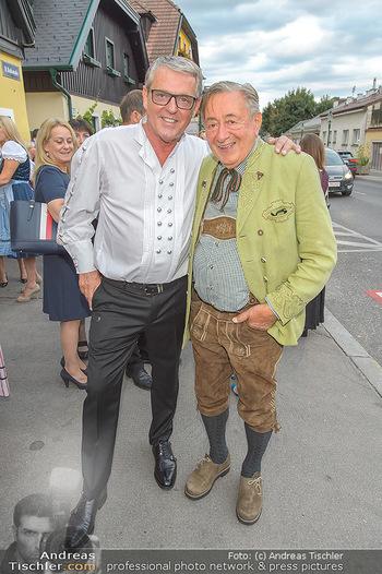 120 Jahre Jubiläum - Schreiberhaus, Wien - Fr 13.09.2019 - Poldi HUBER, Richard LUGNER23