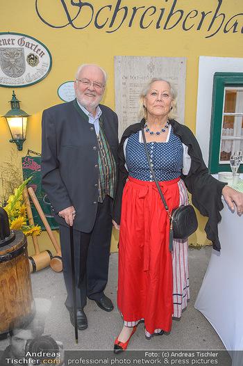 120 Jahre Jubiläum - Schreiberhaus, Wien - Fr 13.09.2019 - Felix DVORAK mit Ehefrau Elisabeth26