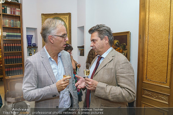 Privatempfang für Franz Patay - Privatwohnung Sarata - Mo 16.09.2019 - Werner SOBOTKA, Christoph WAGNER-TRENKWITZ20