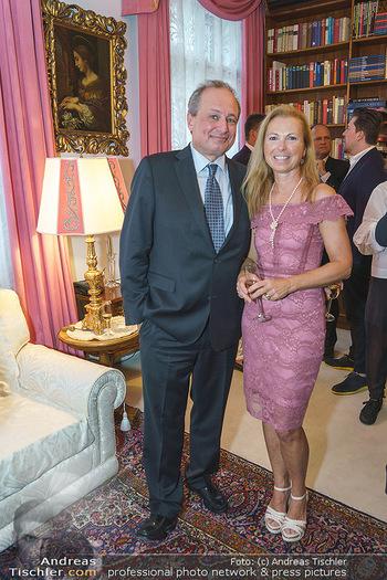 Privatempfang für Franz Patay - Privatwohnung Sarata - Mo 16.09.2019 - Franz PATAY mit Ehefrau Bettina25