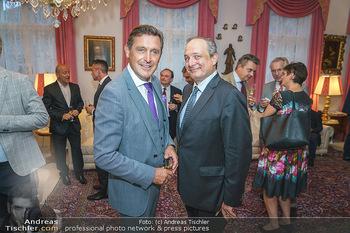 Privatempfang für Franz Patay - Privatwohnung Sarata - Mo 16.09.2019 - Peter HANKE, Franz PATAY54