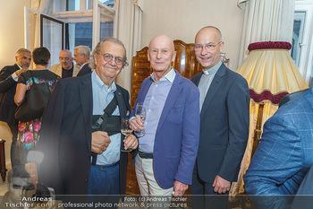 Privatempfang für Franz Patay - Privatwohnung Sarata - Mo 16.09.2019 - Hans Peter SPAK, Kurt MANN, Toni FABER57