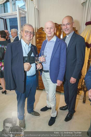 Privatempfang für Franz Patay - Privatwohnung Sarata - Mo 16.09.2019 - Hans Peter SPAK, Kurt MANN, Toni FABER58