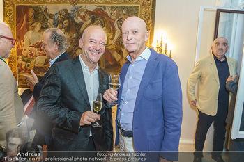 Privatempfang für Franz Patay - Privatwohnung Sarata - Mo 16.09.2019 - Andy LEE LANG, Kurt MANN63