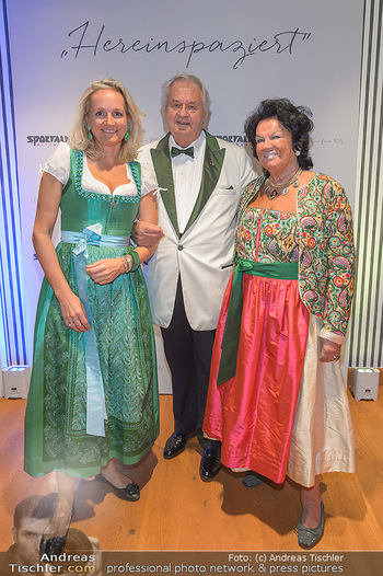Sportalm Schauraum Opening - Palais Wessely, Wien - Di 17.09.2019 - Ulli EHRLICH mit Eltern Willie und Herta3