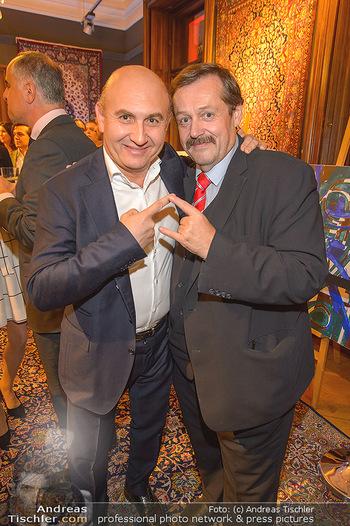 TU Wien Fundraising - Palais Szechenyi - Mi 18.09.2019 - Werner GRUBER, Ali RAHIMI9