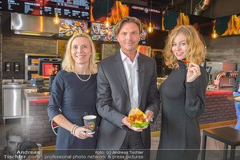 Restaurant Opening - Chili eats honey, Parndorf - Do 19.09.2019 - Thomas SEIKMANN mit Ehefrau, Zoe STRAUB9