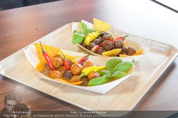 Restaurant Opening - Chili eats honey, Parndorf - Do 19.09.2019 - Das Essen (Fleischbällchen)10