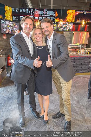 Restaurant Opening - Chili eats honey, Parndorf - Do 19.09.2019 - Thomas SEIKMANN mit Ehefrau und Bruder28