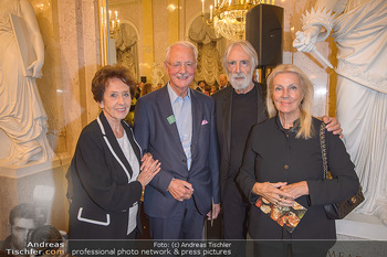 Albrecht Dürer Ausstellungseröffnung - Albertina - Do 19.09.2019 - Karlheinz und Agnes ESSL, Michael und Susi HANEKE1