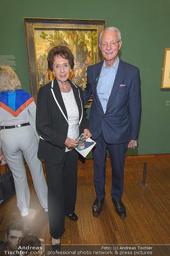 Albrecht Dürer Ausstellungseröffnung - Albertina - Do 19.09.2019 - Karlheinz und Agnes ESSL17