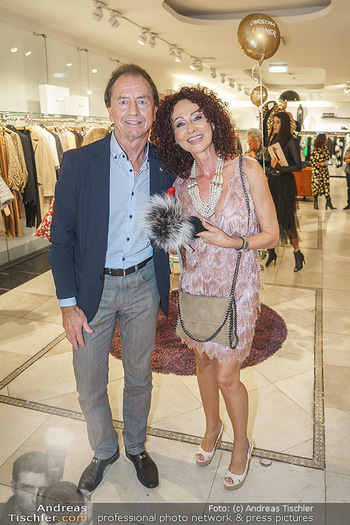 Shopping & Charity - Hämmerle Modehaus Wien - Mi 25.09.2019 - Christina LUGNER, Heribert KASPER4