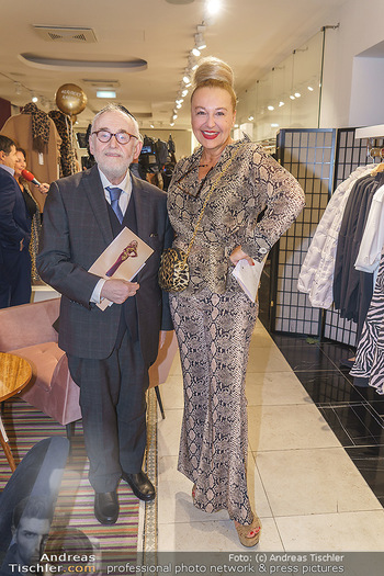 Shopping & Charity - Hämmerle Modehaus Wien - Mi 25.09.2019 - Paul Chaim EISENBERG, Andrea BUDAY19
