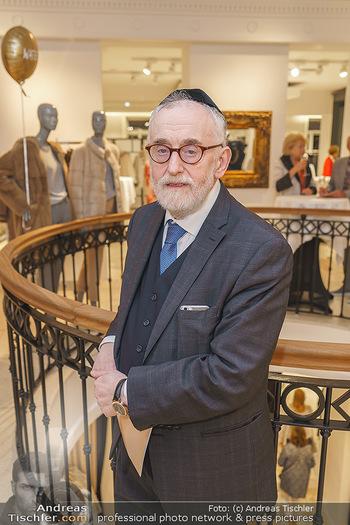 Shopping & Charity - Hämmerle Modehaus Wien - Mi 25.09.2019 - Paul Chaim EISENBERG (Portrait)31