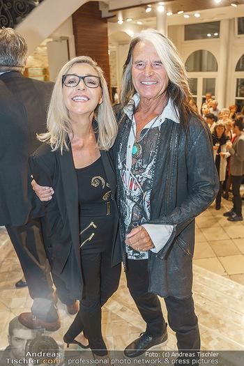 Shopping & Charity - Hämmerle Modehaus Wien - Mi 25.09.2019 - Waterloo Hansi KREUZMAYR mit Ehefrau Andrea48