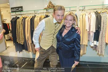 Shopping & Charity - Hämmerle Modehaus Wien - Mi 25.09.2019 - Willi GABALIER, Brigitte KREN58