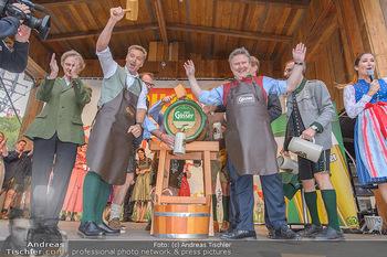 Wiener Wiesn Opening - Prater, Wien - Do 26.09.2019 - Bieranstich Bierfass Anstich Eröffnung Michael LUDWIG, Christia96