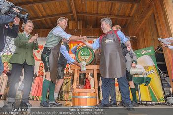 Wiener Wiesn Opening - Prater, Wien - Do 26.09.2019 - Bieranstich Bierfass Anstich Eröffnung Michael LUDWIG, Christia100
