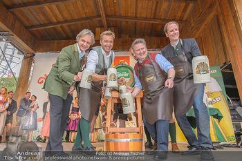 Wiener Wiesn Opening - Prater, Wien - Do 26.09.2019 - Bieranstich Bierfass Anstich Eröffnung Michael LUDWIG, Christia108