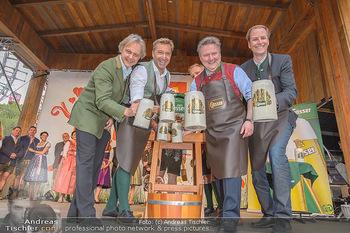 Wiener Wiesn Opening - Prater, Wien - Do 26.09.2019 - Bieranstich Bierfass Anstich Eröffnung Michael LUDWIG, Christia112