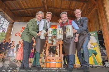 Wiener Wiesn Opening - Prater, Wien - Do 26.09.2019 - Bieranstich Bierfass Anstich Eröffnung Michael LUDWIG, Christia116