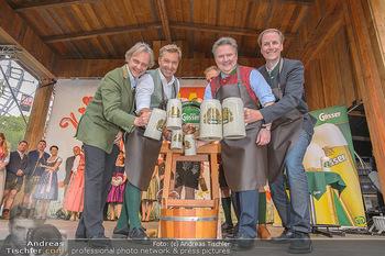 Wiener Wiesn Opening - Prater, Wien - Do 26.09.2019 - Bieranstich Bierfass Anstich Eröffnung Michael LUDWIG, Christia120