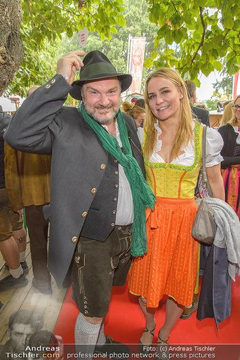 Wiener Wiesn Opening - Prater, Wien - Do 26.09.2019 - Martin LEUTGEB, Nicole WESNER236