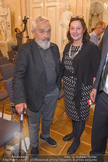 Arnulf Rainer Ausstellungseröffnung - Albertina - Do 26.09.2019 - 3