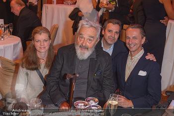 Arnulf Rainer Ausstellungseröffnung - Albertina - Do 26.09.2019 - Familie Arnulf RAINER mit Tochter Clara, deren Ehemann Xavier, C9