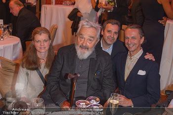 Arnulf Rainer Ausstellungseröffnung - Albertina - Do 26.09.2019 - Familie Arnulf RAINER mit Tochter Clara, deren Ehemann Xavier, C10