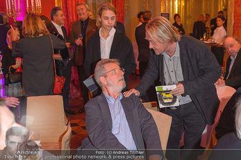 Arnulf Rainer Ausstellungseröffnung - Albertina - Do 26.09.2019 - Oscar BRONNER, Hubert SCHEIBL12