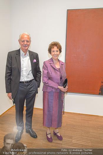 Arnulf Rainer Ausstellungseröffnung - Albertina - Do 26.09.2019 - Karlheinz und Agnes ESSL16