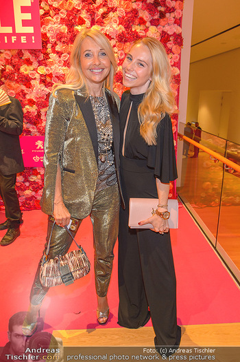 10 Jahre Style up your Life - Hotel Andaz am Belvedere Wien - Di 01.10.2019 - Uschi FELLNER mit Tochter Jennifer Jenny MAGIN95