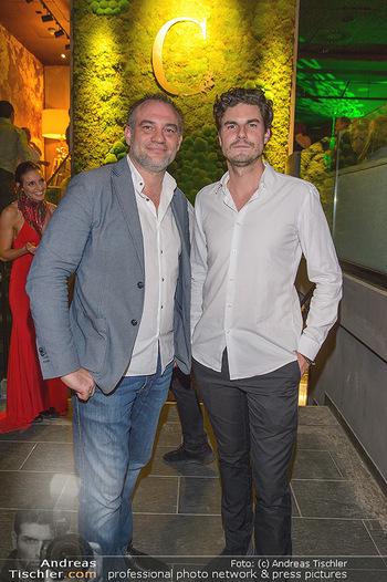VIP Opening - Calea Dinner Club - Mi 02.10.2019 - die Betreiber Kevin BARRADOUGH und Thomas THURNER14