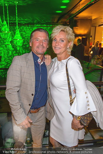 VIP Opening - Calea Dinner Club - Mi 02.10.2019 - Frenkie SCHINKELS mit Ehefrau Romana23